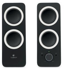 Акустическая система Logitech Multimedia Speakers Z200 Черная PC/Wii U/PS Vita/3DS (PC)