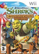 Игра Shreks Carnival Craze Party Games для Nintendo Wii