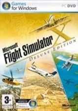 Flight Simulator X Deluxe Edition Box (PC)