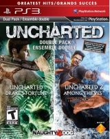 Игра Uncharted: Drake's Fortune + Uncharted 2: Among Thieves Русская Версия Platinum для PS3