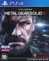 Metal Gear Solid 5 (V): Ground Zeroes Русская Версия (PS4)