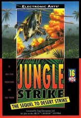 Jungle Strike Русская Версия (Sega)