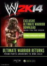 WWE 2K14 Ultimate Warrior DLC (Xbox 360)
