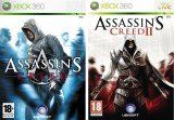 Assassin's Creed + Assassin's Creed 2 (II) Русская Версия (Xbox 360)