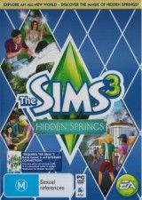 The Sims 3 Hidden Springs (Хидден Спрингс) Code in a Box (PC)