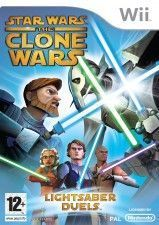 Star Wars The Clone Wars: Lightsaber Duels wii