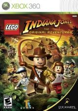 Игра LEGO Indiana Jones: The Original Adventures для Xbob 360