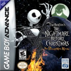 Nightmare Before Christmas: The Pumpkin King Русская Версия (GBA)