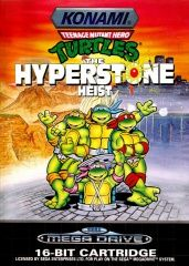 Teenage Mutant Ninja Turtles: The Hyperstone Heist Русская Версия (Sega)
