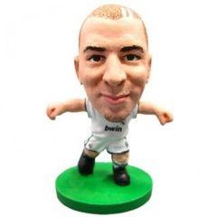 Фигурка футболиста Soccerstarz - Real Madrid Karim Benzema - Home Kit (75627)