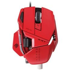 Мышь проводная Mad Catz R.A.T.7 Gaming Mouse (Red) (PC)