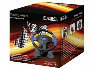 ���� Exeq Racing Wheel PC/PS3/PS2 (PC)