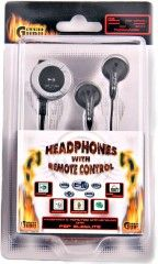 Наушники HEADPHONES with REMOTE CONTROL (Черные) (PSP)