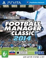 Football Manager Classic 2014 Русская Версия (PS Vita)