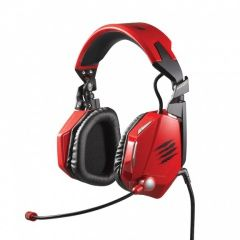 Гарнитура проводная Mad Catz F.R.E.Q. TE Stereo Gaming Headset Красная PC/Wii U/PS Vita/3DS (PC)