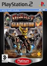 Игра Ratchet: Gladiator Platinum Рус. Док. для Sony PS2
