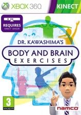 Игра Dr. Kawashima's Body and Brain Exercises с поддержкой Kinect для Xbox 360