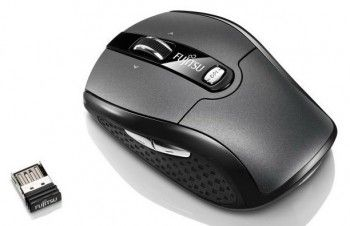 Мышь беспроводная Fujitsu Wireless Notebook Laser Mouse WI610 Micro-Receiver (S26381-K460-L100) (PC)