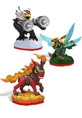 Skylanders Trap Team: Набор из трех фигурок: High Five, Trail Blazer, Jet-Vac