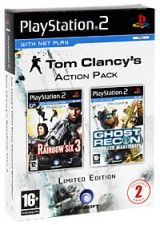Tom Clancy's Rainbow Six 3 + Ghost Recon Advanced Warfighter (PS2)