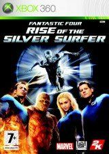 Игра Fantastic 4: Rise of the Silver Surfer для Xbox 360