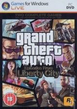 GTA: Grand Theft Auto 4 (IV): Episodes From Liberty City Русская Версия Box (PC)