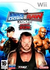 Игра WWE SmackDown vs. Raw 2008 (Рус. Док.) для Wii