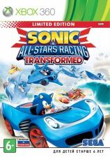 Sonic and All-Stars Racing Transformed Ограниченное издание (Limited Edition) (Xbox 360)