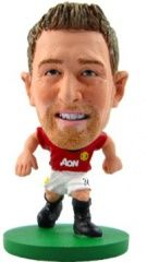 Фигурка футболиста Soccerstarz - Man Utd Darren Fletcher - Home Kit (77039)