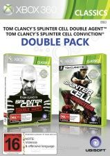 Tom Clancy's Splinter Cell Conviction + Splinter Cell Double Agent (Xbox 360)