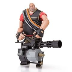 "Фигурка ПУЛЕМЕТЧИК ""RED"" (NECA Team Fortress 2 RED Series 2 Limited Edition Action Figure Heavy)"