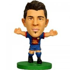 Фигурка футболиста Давид Вилья Барселона Soccerstarz - Barcelona David Villa - Home Kit  (73455)
