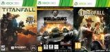 World of Tanks: Xbox 360 Edition + игра Deadfall + игра Titanfall (Xbox 360)