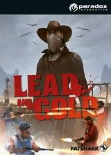 Lead and Gold. Быстрые и мёртвые (Gangs of the Wild West) Box (PC)