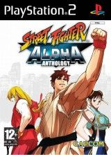 Игра Street Fighter Alpha Anthology  для PS2