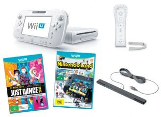 Купить Nintendo Wii U 8 GB Basic Pack White + Just Dance 2014 + Nintendo Land+ Wii Remote Plus (Wii U). Самая низкая цена!
