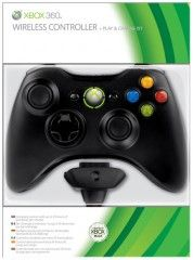 �������� ������� ������������ Wireless Controller (׸����) + Play & Charge Kit ��� Xbox 360