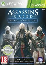 Assassin's Creed Heritage Collection (Assassins Creed 1,2,3. Assassins Creed Brotherhood, Assassins Creed: Revelations) (Xbox 360)