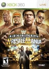 Игра WWE Legends of Wrestlemania для Xbox 360