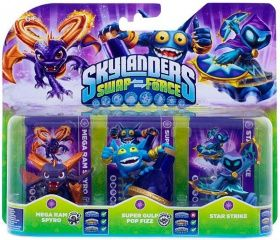 Skylanders Swap Force. Набор из трех фигурок: Mega Ram Spyro, Super Gulp Pop Fizz, Star Strike