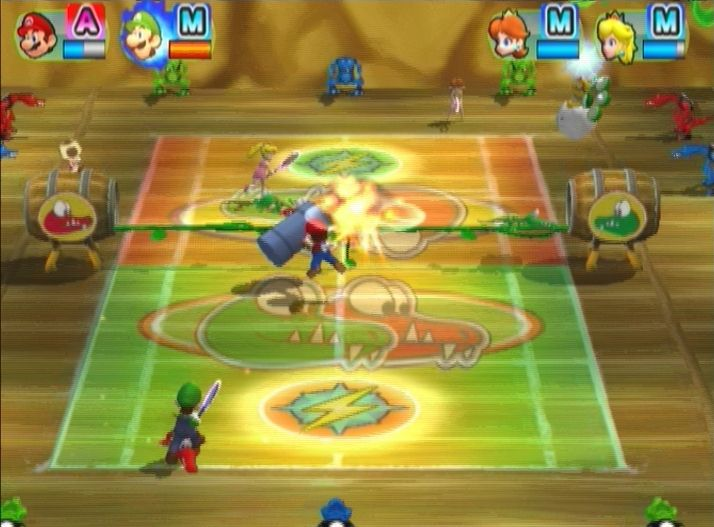 Купить New Play Control: Mario Power Tennis (Wii) для Nintendo Wii