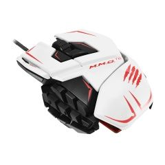 Мышь проводная Mad Catz M.M.O.TE Gaming Mouse (White) (PC)