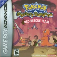 Pokemon Mystery Dungeon Red Rescue Team (������� ������� ���������) ������� ������ (GBA)