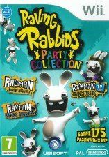 Игра Raving Rabbids: Party Collection для Nintendo Wii
