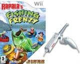 Игра Rapala`s Fishing Frenzy + Удочка для Nintendo Wii