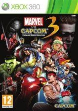 Игра Marvel vs Capcom 3 Fate of Two Worlds для Xbox 360