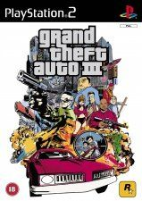 Игра Grand Theft Auto III Platinum для PS2