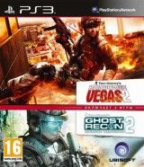 Ghost Recon: Advanced Warfighter 2 + Rainbow Six Vegas 2 Double Pack (PS3)