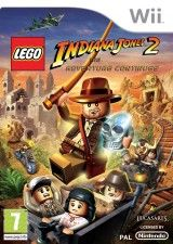 Игра LEGO Indiana Jones 2 The Adventure Continues для Nintendo Wii