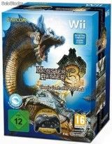 Игра Monster Hunter Tri (3) + Classic Controller Pro Pack для Nintendo Wii